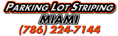 Pavement Striping Service Miami Florida